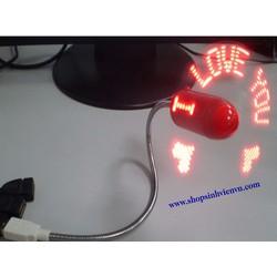 Quạt LED chạy chữ