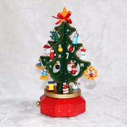Hộp Nhạc Cây Thông Giáng Sinh Noel Queenie