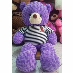 Gấu bông Teddy 1m4 - tím