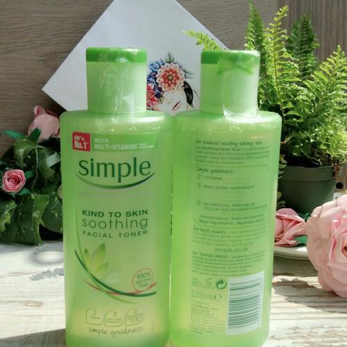 Nước hoa hồng Simple Kind To Skin Soothing Facial Toner - 4322733 , 10520824 , 15_10520824 , 200000 , Nuoc-hoa-hong-Simple-Kind-To-Skin-Soothing-Facial-Toner-15_10520824 , sendo.vn , Nước hoa hồng Simple Kind To Skin Soothing Facial Toner