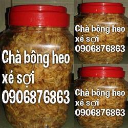 Chà bông heo xé sợi - Giá 100 gram