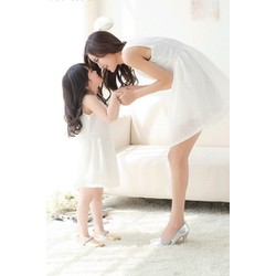 Set đầm xòe mẹ và bé