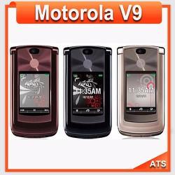 Điện thoại Motorola V9 Chính hãng tốt nhất, Loại 1, BH 12 tháng