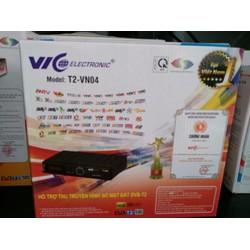 Đầu thu kỹ thuật số DVB T2-VN04 VIC Electronic
