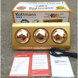 BH 3 Năm Đèn sưởi nhà tắm Kottmann 3 bóng K3B Y
