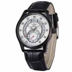 Đồng hồ Cơ nam chạy tự động dây da SEWOR SE8816