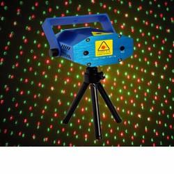 Đèn led lazer mini chấm bi cảm ứng nhạc