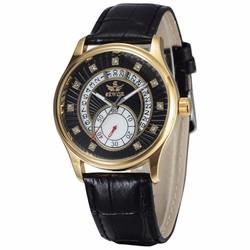 Đồng hồ Cơ nam chạy tự động dây da SEWOR SE8815