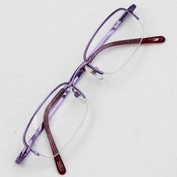 Gọng mắt kính nửa viền tím MS45604
