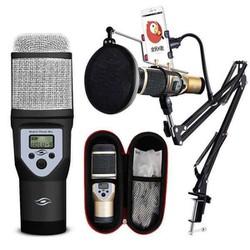 Bộ Micro karaoke và thu âm M5 sành điệu