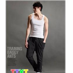 quần dài nam đáy thụng korea Mã: ND0156 - ĐEN