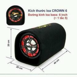Loa Crown cỡ số 6