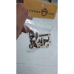 Móc khóa gỗ các loại xe hàng Thái- Xe lam