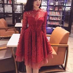 ĐẦM XÒE REN TIỂU THƯ - HÀNG SHOP
