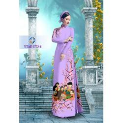 Vải áo dài tằm Thái và Tằm ý cao cấp  RS0050