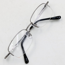 Gọng mắt kính trắng nửa viền ms20627