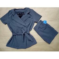set bộ short vest kèm lót