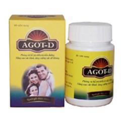 AGOT-D  Hỗ trợ điều trị bệnh tiểu đường