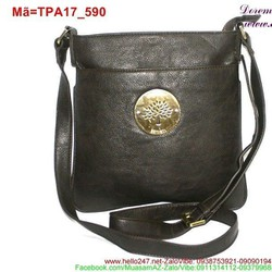 Túi đeo ipad phối tag tròn phong cách nổi bật sành điệu TPA17