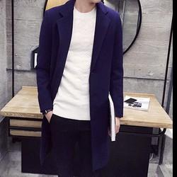 Áo khoác dạ nam dáng dài LNA fashion