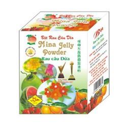 Hộp 12 gói bột rau câu dẻo Mina