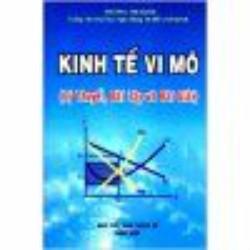 Kinh Tế Vi Mô lý thuyết,bài tập và bài giải