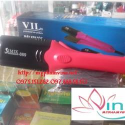 Máy duỗi bấm tóc VIL 4 in 1 professional