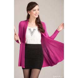 Áo Khoác len form dài hàng Quảng Châu