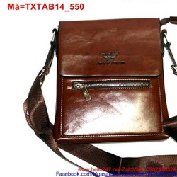 Túi đeo da ipad 7 galaxy tab phối khóa kéo sang trọng TXTAB14