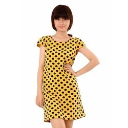 Đầm suông chấm bi DU11796