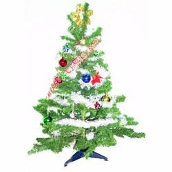 Cây thông Noel xanh cao 1m2 - combo 14 món