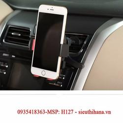 Giá đỡ kẹp GPS,PSP điện thoại gắn hốc quạt gió 360 độ ở xe hơi H127