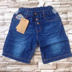 qt23 [10-22kg]Quần sọt jeans mềm mỏng túi sọc