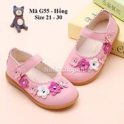 Giày búp bê điệu dà bé gái 1 - 5 tuổi G55