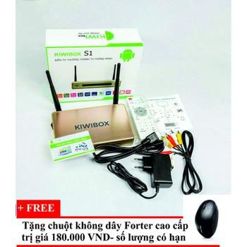 Smartbox Kiwibox S1 tặng chuột không dây cao cấp Forter - Kiwis1v181 ...