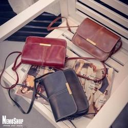Túi đeo vai kiểu dáng vintage - B3455 - Hàng Nhập