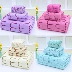 Set 3 khăn tắm loại lớn