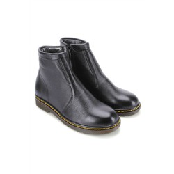 Giày boot nam Huy Hoàng màu đen