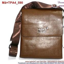 Túi đeo da ipad dạng nắp đậy đơn giản trẻ trung TPA4