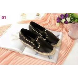 Giày lười nữ kiểu dáng mới da đẹp chất lượng tốt