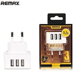 CÓC SẠC ĐA NĂNG REMAX RP-U31 3 CỔNG USB