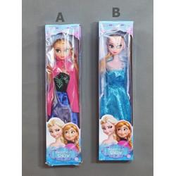 Hộp quà tặng búp bê công chúa Elsa và Anna cho bé gái