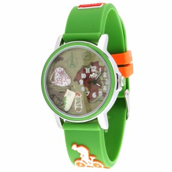Đồng hồ trẻ em Mini Hàn Quốc dây cao su MI070
