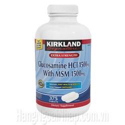 Viên uống điều trị viêm khớp Glucosamine Kirkland 375 viên