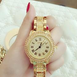 Đồng hồ nữ sang chành cao cấp 2 vòng đá