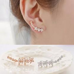 Bông tai ngôi sao đính đá thời trang Hàn Quốc SPE-ED222