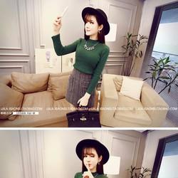 Áo len cổ lọ Quảng Châu cao cấp
