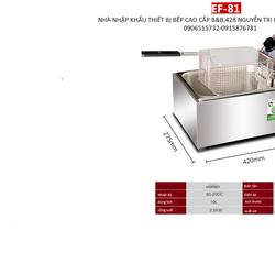 bếp chiên nhúng điện cao cấp EF-81 HOPOOT ĐÀI LOAN