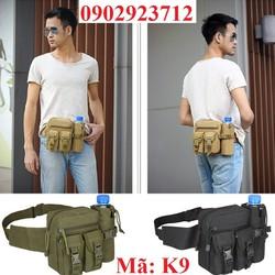 Hàng Nhập Loại 1 - Túi Đeo Lưng - Hông Quân Đội Cao Cấp - K9