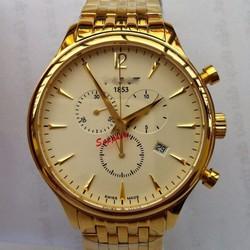 Đồng hồ 6 Kim Mạ Vàng, Sang Trọng